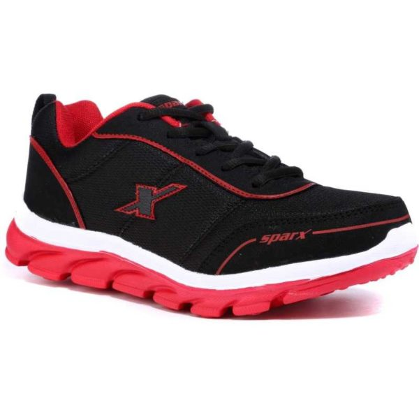 Sparx 277 Black Red Running Shoes for